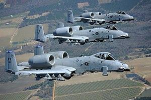 23d flugilo - A-10 Thunderbolt IIs - 2010.jpg