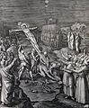 247 Life of Christ Phillip Medhurst Collection 4510 Christ crucified Mark 15.25 Pass Rom.jpg