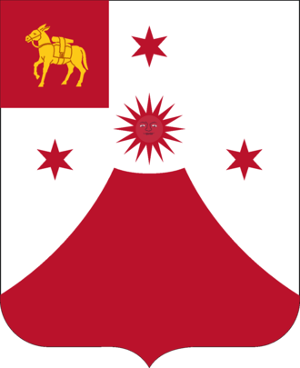 24th Field Artillery Regiment (United States) - Coat of arms