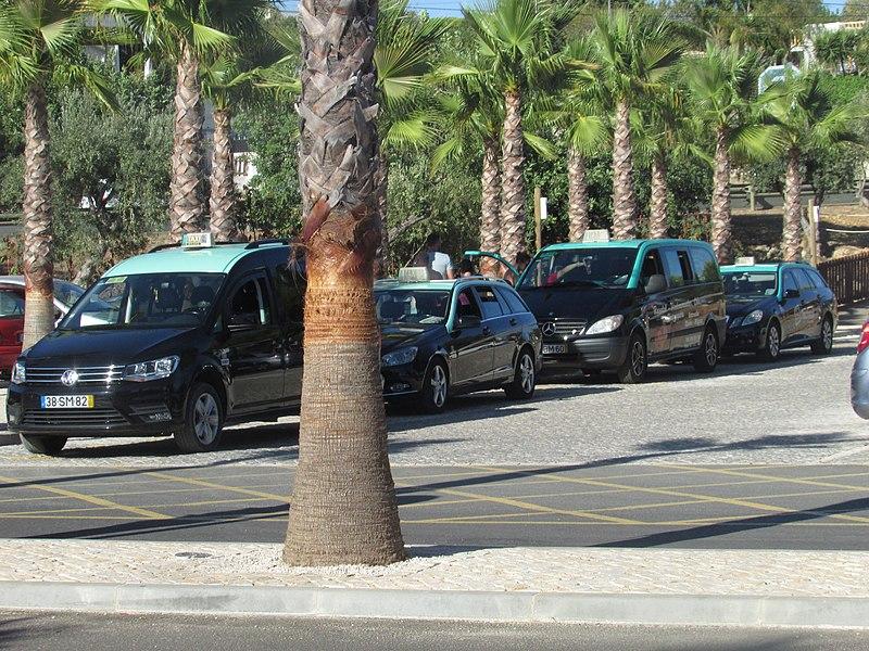 Valor do táxi em Faro