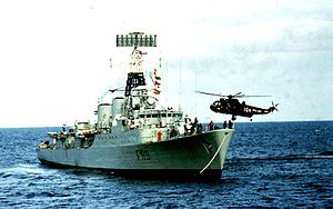 Tribal-class frigate - HMS Eskimo