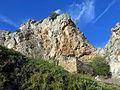 304 Ruïnes vora la roca Foradada, al poble de Foradada.JPG