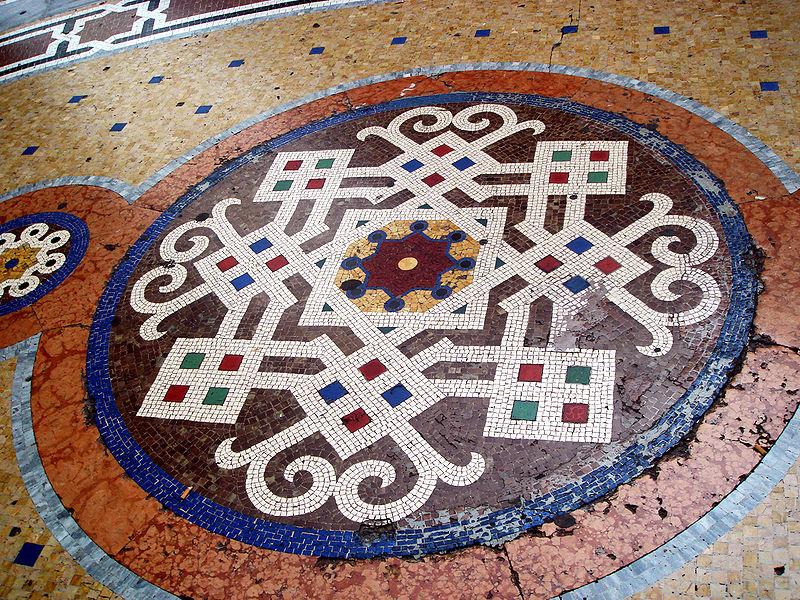 File:3493 - Milano - Galleria Vittorio Emanuele - Mosaico pavimentale - Foto Giovanni Dall'Orto, 22-June-2007.jpg