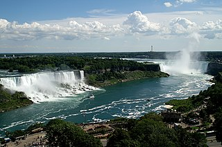 Waterfalls between Ontario, Canada and New York, United States