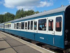 British Rail Class 117 - Image: 3 CLASS 117 DMU TCO Vehicle