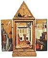 3a Andrea di Cione Orcagna, Altarpiece. 1340-45. Delaware, Alana Collection.jpg