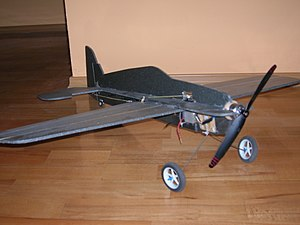 Model Airplane; 3dx