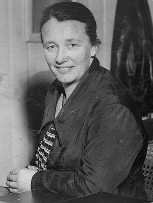 Aaslaug Aasland - Aaslaug Aasland, ca. 1935