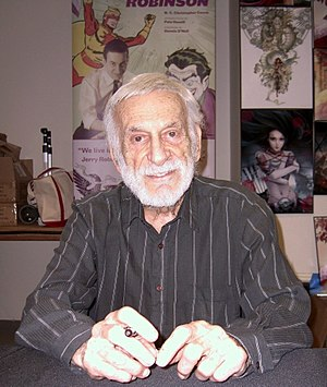 Bill Finger Award - Jerry Robinson (pictured 2011) created the award