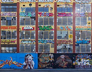 5 Pointz - 5 Pointz wall