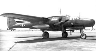 5th Flying Training Squadron - 5th Fighter Squadron P-61B Black Widow