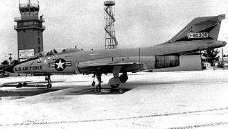 62nd Fighter Squadron - 62d Fighter-Interceptor Squadron F-101B Voodoo at K. I. Sawyer AFB in 1969