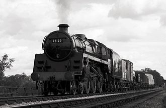 BR Standard Class 5 73129 - 73129 at Midland Railway – Butterley