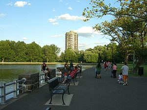 North Bergen, New Jersey - North Hudson Park and the Stonehenge