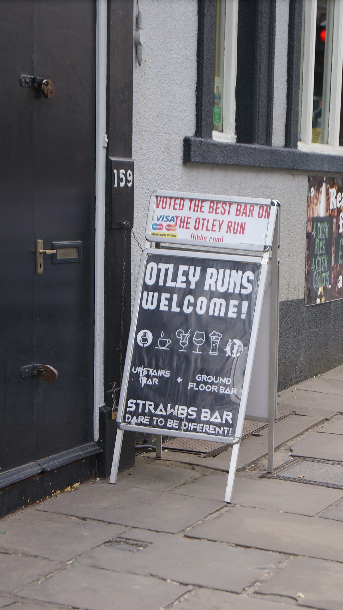 How Much Is A Mile >> Otley Run - Wikipedia