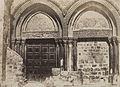 A. Salzmann - Saint Sépulcre, entrée principale - Jerusalem.jpg