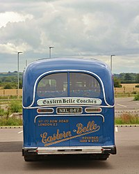 AEC Regal III Eastern Belle NXL 847 OxfordParkway rear.jpg
