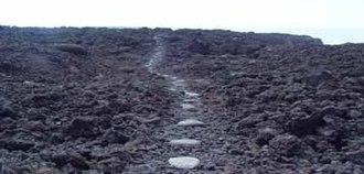 Ala Kahakai National Historic Trail - Image: ALKA trailsection