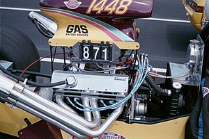 AMC V8 engine - AMC engine in a gas dragster