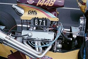 AMC V8 engine - AMC engine in a gas dragster