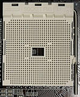 Socket FM1 CPU socket