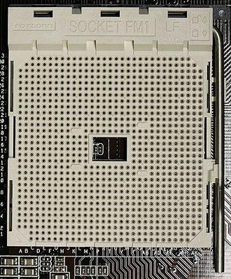 Socket FM1 - An AMD FM1 CPU socket