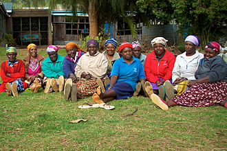 Women in Africa - A group of women from Limuru in central Kenya, 2010.