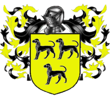 Coat of arms of House Clegane A Song of Ice and Fire arms of House Clegane supporters.png