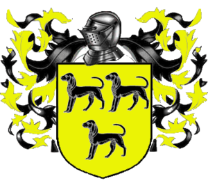Sandor Clegane - Coat of arms of House Clegane