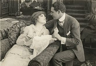 Joseph Kaufman - Ethel Clayton and Joseph Kaufman in A Woman Went Forth (1915)