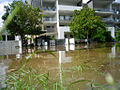 A flooded street in the Brisbane suburb of Toowong 1.jpg