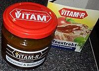 A jar of Vitam-R