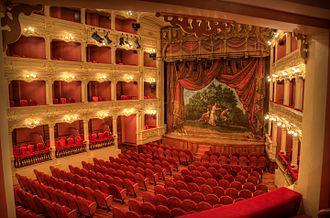 Teatre Principal de Maó - Sala del Teatro Principal de Mahón
