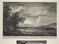 A view in Hudson's River of Pakepsey & the Catts-Kill mountains. From Sopos Island in Hudson's River (NYPL Hades-1803868-1659405).tiff