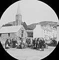A view through the peephole of Market day in Clifden (35962674263).jpg
