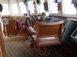 Ross Tiger - The bridge interior of Ross Tiger