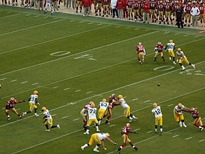 2008 San Francisco 49ers season - Image: Aaron Rodgers to Jordy Nelson