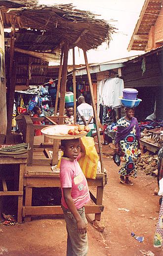 Abong-Mbang - Abong-Mbang market