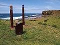 Aboriginal monument along the Kiama coastal walk - panoramio.jpg