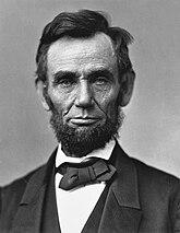 Abraham Lincoln O-77 matte collodion print