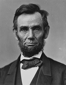 Abraham Lincoln in november 1863