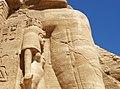 Abu Simbel temple statue base.jpg