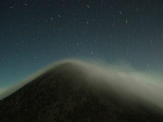 Acatenango - Image: Acatenango from Fuego