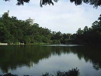 Aclimação - Parque da Aclimação, one of the most beautiful and well-known parks in São Paulo.