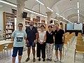 Acte de signatura del conveni marc de col·laboració entre Amical Wikimedia, Wikimedia España i el Col·legi de Bibliotecaris i Documentalistes de la Comunitat Valenciana 06.jpg