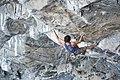 Adam Ondra climbing Silence 9c by PAVEL BLAZEK 2.jpg