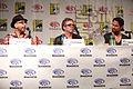 Adam Simon, Brannon Braga & Shane West (13909451501).jpg