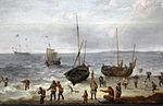 Adam willaerts, la pesca (riva marina con pescatori), 1600-50 ca. 02.JPG