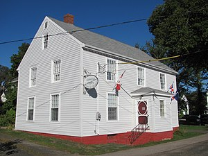 Digby, Nova Scotia - The Admiral Digby Museum.