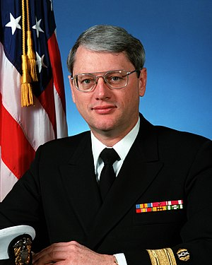 Judge Advocate General of the Navy - Image: Admiral Ted Gordon